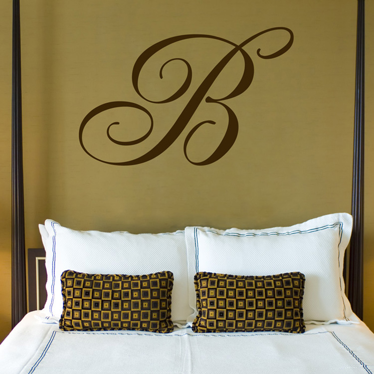 giant monogram family name wall decal sticker graphic monogram boys wall sticker with stars stickythings co za