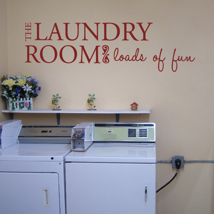 Laundry Room Wall Decor Stickers : The laundry room quotes wall decals