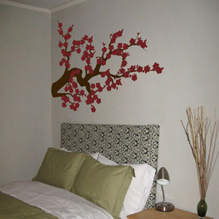 Extra Large Cherry Blossom Branch   Wall Decals