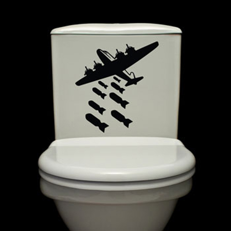 bombs away toilet decals wall decals - Wall Decals