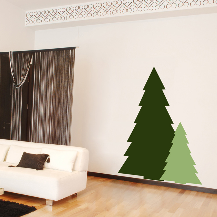 Holiday Christmas Halloween Fall Winter Wall Decals Stickers ...