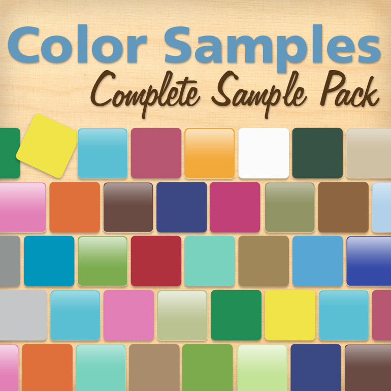 Complete Color Sample Pack