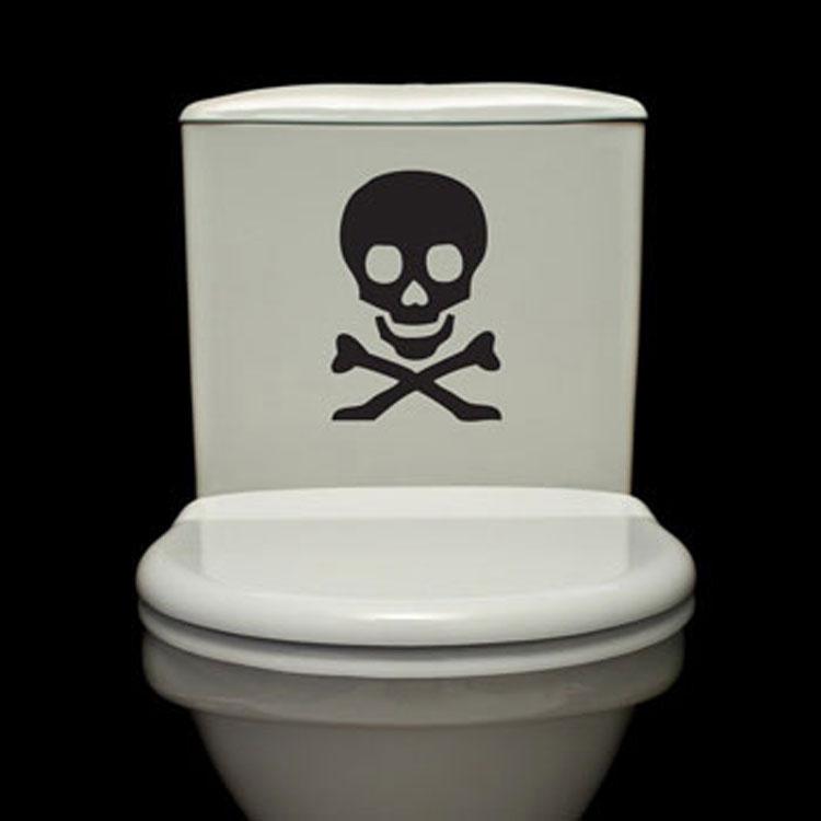 Bathroom Decals toilet decals wall decals stickers graphics