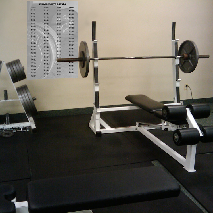 How do you convert 28 kilograms to pounds?