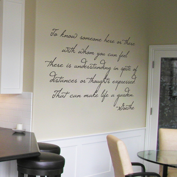 Goethe   Wall Words U0026 Wall Decals