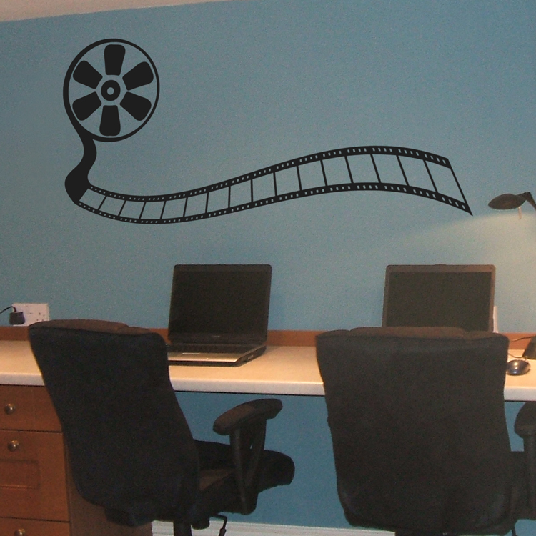 & Movie Reel - Wall Decals