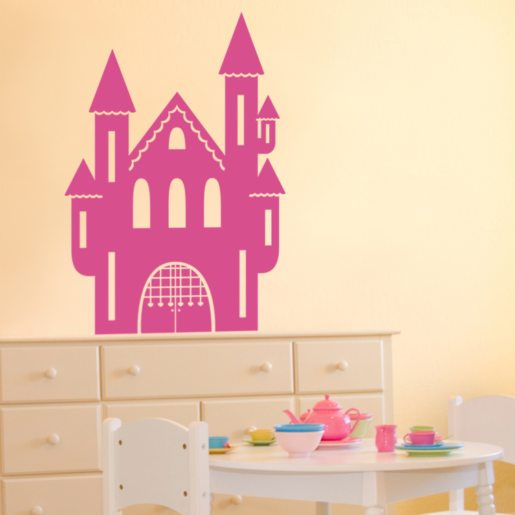 home nursery kids 39 rooms princess castle wall decals