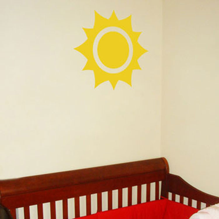 Sunshine - Big Sun Wall Decals