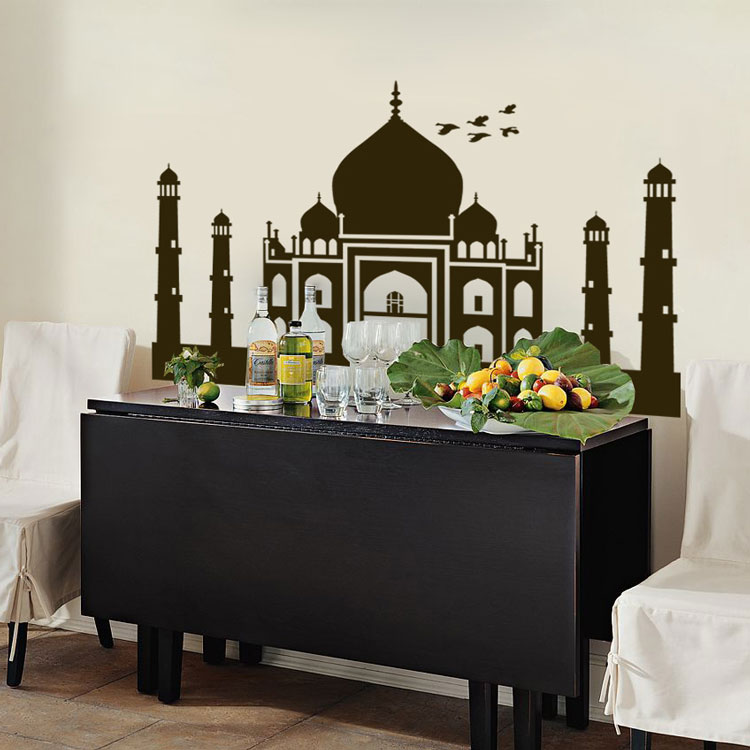 Home 187 geographical 187 taj mahal india mural wall decals