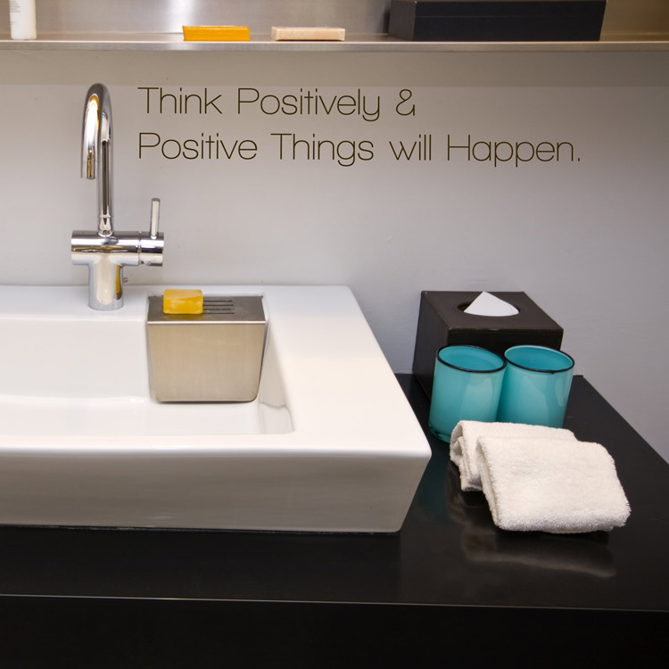 Think Positively & Positive Things Will Happen - Wall ...