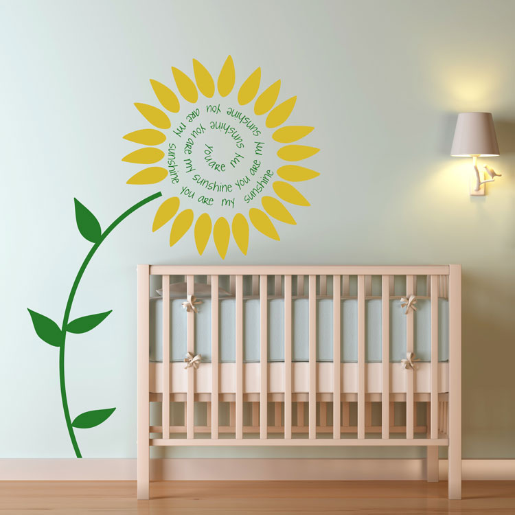 You are my Sunshine - Wall Decals Stickers Graphics