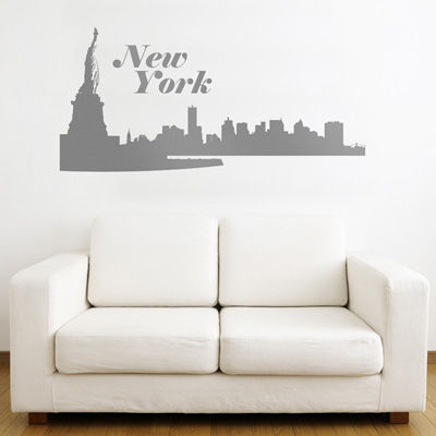 New York City Skyline   Wall Decals Part 89