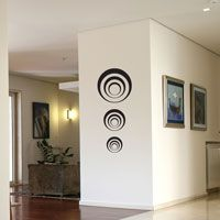 Three sets of Circles - Wall Decals