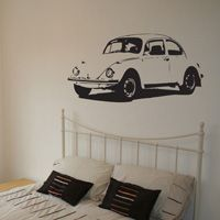Vintage Car - Vinyl Wall Decal