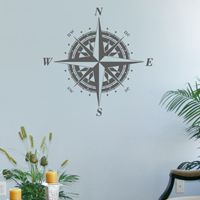 Classic Compass Rose - Wall Decals