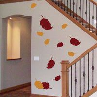 Autumn & Fall Leaves - Set of 20 - Holiday Wall Decals