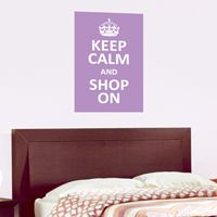 Keep Calm and ... - Customizable - Quote - Printed Wall Decals