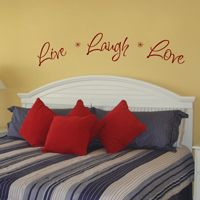 Live Laugh Love - Wall Decals