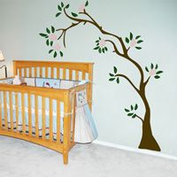 Lazy Budding Tree - Wall Decals