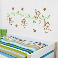 No More Monkeys  - Quote - Wall Decals