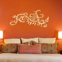 Paisley Peppers and Intricate Swirls - Wall Decals
