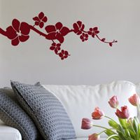 Simple Orchids - Wall Decals