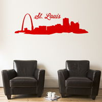 St. Louis Skyline - Wall Decals