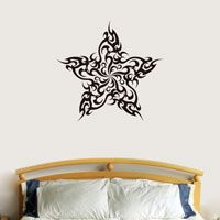 Tribal Star - Wall Decal