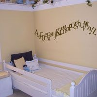 Alphabet - ABCs - Wall Decals