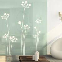 Simple Mod Dandelions - Set of 7 - Wall Decals