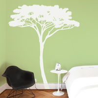 Tall African Tree - Acacia Tree - Wall Decals