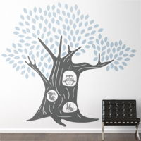 Animal Tree House - Wall Decals