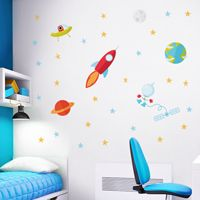 Astronaut Space Adventures - Printed Wall Decals