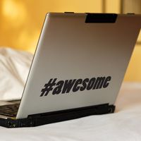 Hashtag Awesome - #awesome - Word Wall Decals