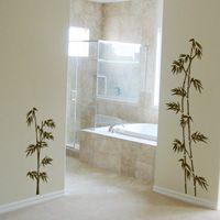 Tall Bamboo - Set of 3 - Wall Decals