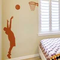 Basketball Player - Wall Decals