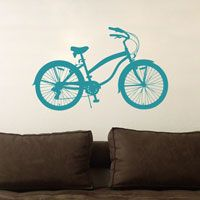 Beach Cruiser - Wall Decals