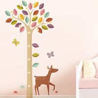 Beautiful Blossoming Tree Growth Chart - Printed Wall Decals