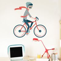 Bike Love - Printed Wall Decals