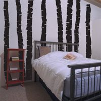 Birch Trees - Set of 8 - Wall Decals