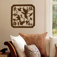 Asian Paper Cut Design - Wall Decals