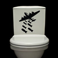 Bombs Away - Toilet Decals - Wall Decals