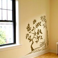 Bamboo and Bonsai - Sea Grass - Wall Decals