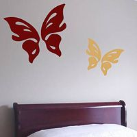 Butterflies - Set of 2 - Wall Decals