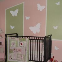 Cute Butterflies - Set of 8 - Wall Decals