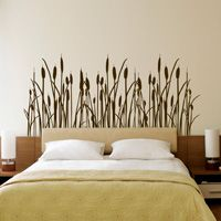 Cattails and Grass - Set of 3 - Wall Decals