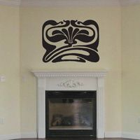 Celtic - Jugendstil Floral - Wall Decal