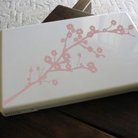 Cherry Blossoms -Set of Two - Laptop & Notebook Decals