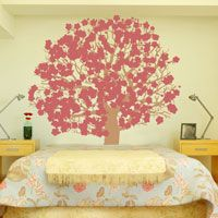 Peaceful Cherry Blossom Tree - Wall Decals