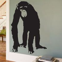 Chimp - Primate - Animals - Wall Decal